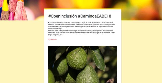 Próxima parada… #OpenInclusión